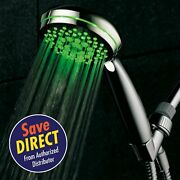 Hotelspa Led Hand-shower With Color Changing Temperature Sensor And 7-settings