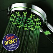Hotelspa® Led/lcd Hand Shower With Temperature-changing Color Sensor