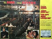 The Spy Who Loved Me Original Subway 2-sheet Rolled Poster 44 X 59 Very Rare B