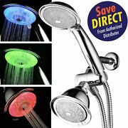 Powerspa Led 3-way Shower Combo With Air Jet Turbo Pressure Boost