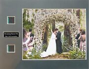 Twilight Saga - Breaking Dawn Part 1 Signed By 2 Photo Film Cell Presentation