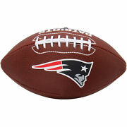 Wilson Official Size New England Patriots Crystal Stoned Football