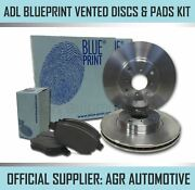 Blueprint Front Discs And Pads 337mm For Toyota Landcruiser 4.0 Grj120 2003-08