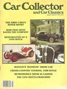 Car Collector And Car Classics February 1981--40 Buick, 61 Impala Ss, 66 Shelby