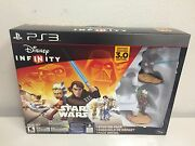 Ps3 Disney Infinity 3.0 Edition Star Wars Starter Pack Opened Box