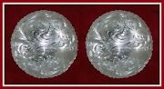 2 - 3 Silver Hand Engraved Western Conchos      95