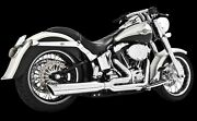 Freedom Performance Union 2-into-1 Exhaust System 86-17 Softail Hd00036