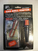 Mhp Gas Grill Universal Push Button Ignitor Kit Collector Box Wire Probe Up-1