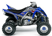 Yamaha Raptor 700 Graphics 2013 And Later War Machine By Invision Artworks