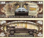 Back To The Future - Universal Pictures - Movie Million Dollar Novelty Money
