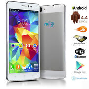 Gsm Factory Unlocked Duo Core 5.5 Android 4.4 3g Smart Cell Phone Atandt T-mobile