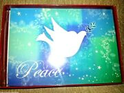 18 Christmas Cards And New Year Trim A Home Boxed Set White Dove Vintage Peace New