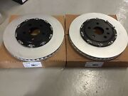 Gm Oem Front 2 Piece Rotor Pair Brembo 6 Piston 2009+ Cts-v And Camaro Ss Zl1 New