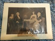 Washington At Home 1867 Original Currier And Ives Eleanor Parke Custis