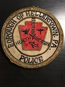 Borough Of Hellertown Police Patch Northampton Pa Constable Sheriff Badge
