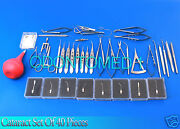 Cataract Set Of 40 Pieces Opthalmic Eye Instruments Ey-024