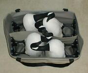 2 4 Pocket Custom Decoy Bags For Goose With The Foot Bases Attached