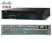 Andeuro1474+iva Cisco2921/k9 Integrated Services Router 3x Gbe 512mb Ram Genuine Cisco