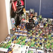 Huge Star Wars Collection 244 Pieces+ Figures Rare Vintage Modern All One Lot