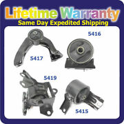 For 2007-2013 Jeep Compass 2.4l Manual Motor And Trans Mount 5416 5415 5417 5419