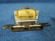 1962 Buick License Plate Holder And Light  216