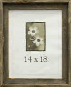 14x18 Barnwood Rustic Picture Frames -- Made From Real Reclaimed Wood