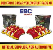 Ebc Yellowstuff Front + Rear Pads Kit For Fiat Tipo 1.8 16v 1992-95