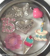 Origami Owl I Love You From Mom Locket Chain Charms For A 15 Year Old