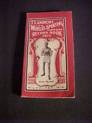 1917 T.s. Andrews World Sporting Annual Record Book