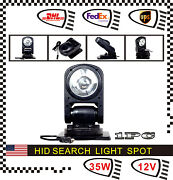 360 Degree 35w Hid Xenon Magnetic Search Work Light Spot Remote Control Boat Car