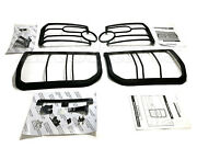 Land Rover Lr3   Discovery 3 Front And Rear Light Guards Kit Vub501380 Vub501200