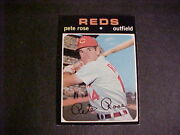 1971 Topps Baseball 100 Pete Rose Mint Right From The Pack To The Holder