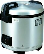 Tiger Jno-a36u-xb 20-cup Uncooked Commercial Rice Cooker And Warmer Stainless