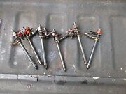 1971 Case 1070 6 Cylinder Diesel Tractor Fuel Injectors Free Shipping
