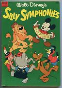 Silly Symphonies 2 Dell Giant Series Vf- 7.5 Nice High Grade White Pages