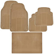 Beige Rubber Floor Mats For Car Suv Plus Motor Trend Cargo Mat Max Weather Prot
