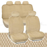 Scottsdale Seat Covers Beige Cloth Steering Wheel Cover Accessories