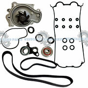 93-01 Honda Prelude H22a1 H22a4 Timing Belt Kit Water Pump And Valve Cover Gasket