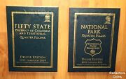 1999 - 2021 State And National Park 224 Quarter Bu Pd Complete W/whitman Folders