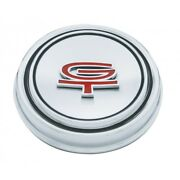 1967 1968 Ford Mustang Gt Hubcaps / Stainless Steel Wheel Hub Covers