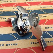 Glove Box Lock Fit For Datsun 521 520 Pickup Truck Genuine Parts Nos Japan