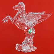 Waterford Pegasus Lead Crystal Made Ireland New Never Sold Signed Green Tag