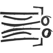 1955-1957 Chevrolet And Pontiac Convertible Roof Rail Weatherstrip Top Seal Kit