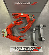 Skunk2 Pro Series Front And Rev Rear Camber Kit Combo For 90-93 Acura Integra Da