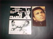 Muhammad Ali 1970and039s 3 Different Postcards