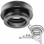 Duratech Galvalume Round Ceiling Support Box For Chimney - 8