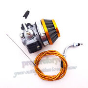 Racing Carburetor Throttle Cable Filter Gas Motorized Bicycle 49cc 50 60 66 80cc