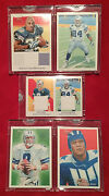 2009 Topps National Chicle Blank Back Lot Romo Aikman Ware Barber Jones All 1/1