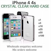 Iphone 4 4s Crystal Clear Thin Hard Case Wholesale