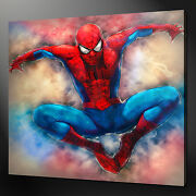 Spiderman Canvas Wall Art Picture Print Variety Of Sizes Free Uk Pandp